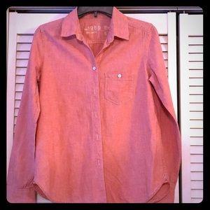 EUC GAP 1969 denim ladies shirt Size S